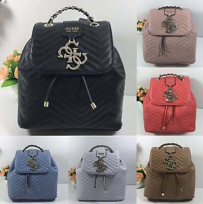396353ad1d Violet Quilted Backpack One Size Handbag 6 Colors Bags NWT VG729432 • 53.99