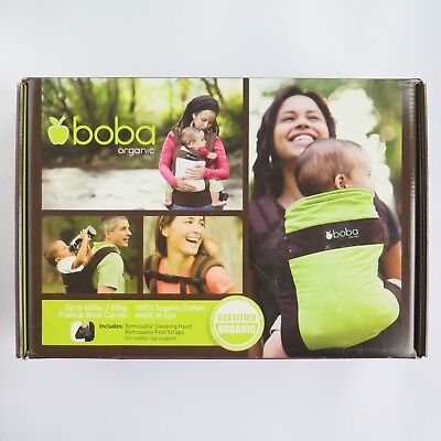 £59.95 • Buy BOBA ORGANIC BABY CARRIER CHESTNUT BROWN   Front & Back Baby Carrier