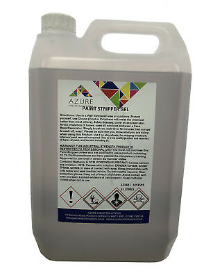 £26.99 • Buy Paint Stripper Gel Removes Paint &Varnish Restricted To Professional Use Only-5L