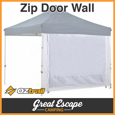 AU69.90 • Buy OZtrail Deluxe Gazebo 2 Zip Wall With Door - OZtrail Gazebo 2 Zip Door Wall 3.0