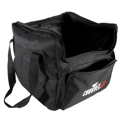 Chauvet DJ CHS-40 VIP Gear Bag Fits Lights Etc Removable Divider + Cable Pockets • 32£
