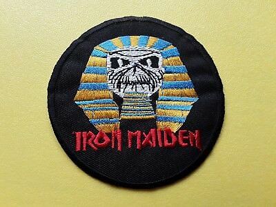 £3.19 • Buy Iron Maiden Patch Embroidered Iron On Or Sew On Badge