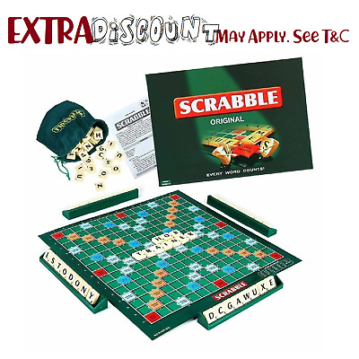 AU15 • Buy Board Fun Toy GAME Party Educational Adult SCRABBLE Family Kid Hot