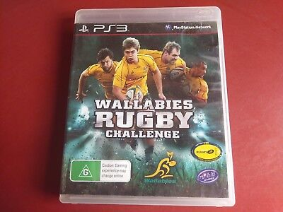 AU9.95 • Buy Wallabies Rugby Challenge Ps3 Playstation 3 Game + Manual  - Free Post Oz Seller