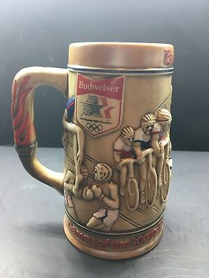 $ CDN14.50 • Buy 1980 Budweiser Olympic Stein In Sponsorship Of The 1984 Los Angeles Olympics