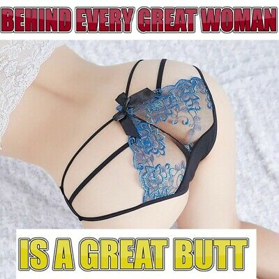 Women Open Butt Crotchless Backless Sexy Panties Mesh G-string Thongs Underwear • 3.89£