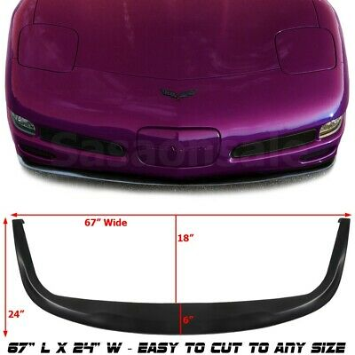 $99.99 • Buy Made For 1997-2004 CHEVY CORVETTE C5 USDM PU Front Bumper Add-on Lip Spoiler