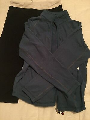 $ CDN50 • Buy Lululemon Crops And Jacket Lot Of Two