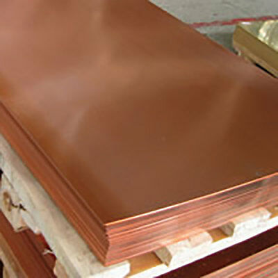 £156 • Buy Copper Full Sheets - 2000mm X 1000mm -  (0.5, 0.7, 0.9, 1.2, 1.5, 2)mm Thick