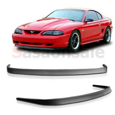 $69.99 • Buy Fit For 94-98 FORD MUSTANG Mach 1 OE Front PU Bumper Lip Body Kit Chin Spoiler