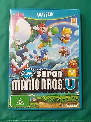 AU25 • Buy New Super Mario Bros - Nintendo Wii U Game