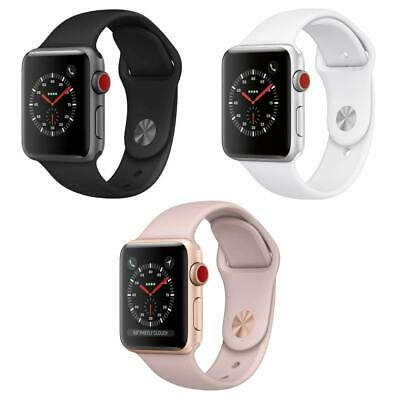 $ CDN195.50 • Buy Apple Watch Series 3 - 38MM / 42MM - Aluminum - Sport Band (GPS + Cellular Data)
