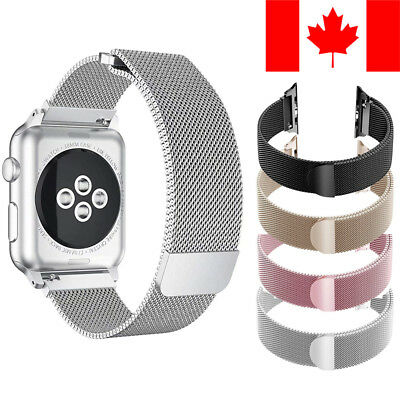 $ CDN11.75 • Buy Milanese Loop Band With Magnetic Clasp For Apple Watch Series 1 / 2 / 3 / 4 / 5