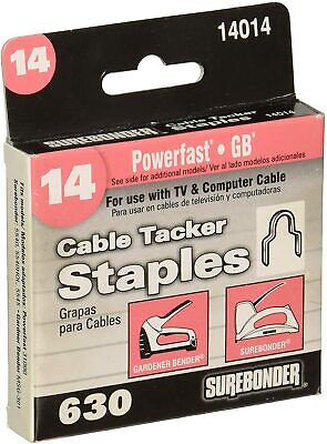 £7.16 • Buy Round Crown Cable Tacker Staple, Fits Up To 1/4-Inch
