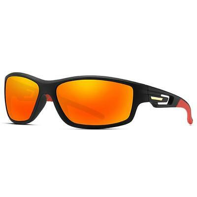 New Sport Running Cycling Mens Womens Unisex Black Polarized Sunglasses UV400  • 9.99£