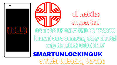 O2 UK Unlock Code NOKIA 1 2 3 3.1 4 5 6 7 7.1 7 PLUS 8 8.1 3310 Nokia 2.3 • 1.60£