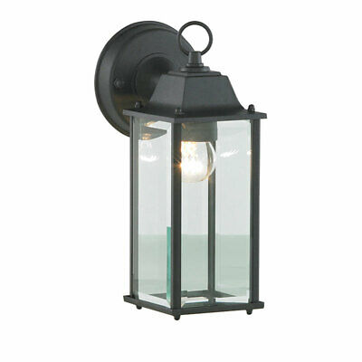 Outdoor 1 Light Bevelled Glass Wall Lantern  3yr Guarantee Garden Lamp Litecraft • 19£