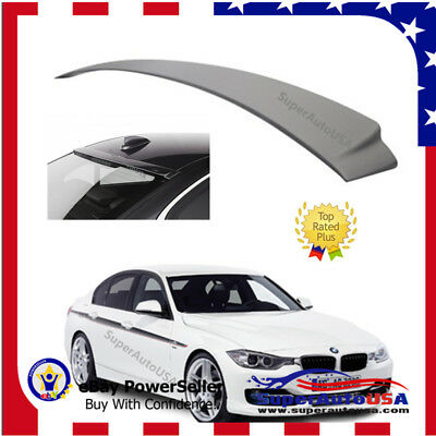 $39.99 • Buy Fit For 2012-18 Bmw F30 3-series Sedan 4dr Ac Style Abs Rear Roof Spoiler Wing