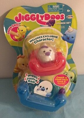 AU12.83 • Buy Jigglydoos Lounge Set Squishy Exclusive Unicorn Character Super Soft