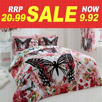 £17.99 • Buy ANIMAL DUVET COVER SET Reversible Quilt Covers Single Double King Size Bedding