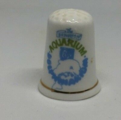 Collectable Thimble - AQUARIUM DOLPHIN   (AA110) • 4.49£