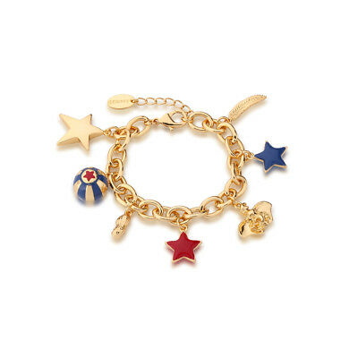 £49 • Buy Disney Couture Kingdom Dumbo Gold-Plated Circus Charm Bracelet