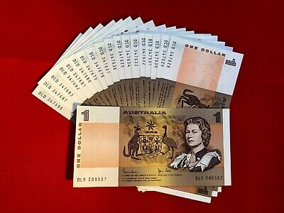 AU10.75 • Buy Australian Decimal Paper $1 Note A UnCirculated Condition. In Serial Sequence.