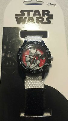 £6.80 • Buy DISNEY Star Wars Storm Trooper Watch-Time Teacher For Kids To Learn Time/ Gift