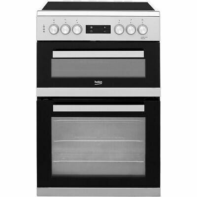 £399 • Buy Beko KDC653S Free Standing A/A Electric Cooker With Ceramic Hob 60cm Silver New