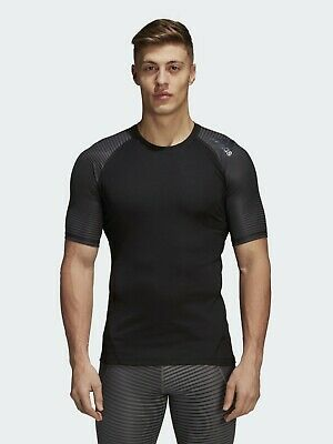 Adidas Base Layers Thermal Compression Top AlphaSkin Sport Tee T Shirt Gym • 21.93£