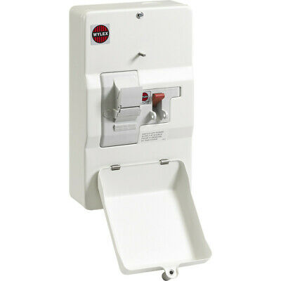 NEW Wylex Domestic Switch Fuse 80A UK SELLER, FREEPOST • 106.60£