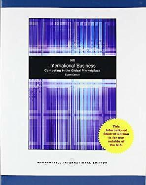 £3.09 • Buy International Business Paperback Charles W. L. Hill