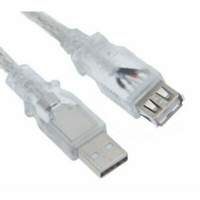 AU17.90 • Buy Astrotek USB 2.0 Extension Cable 5m - Type A Male To Type A Female Transparent