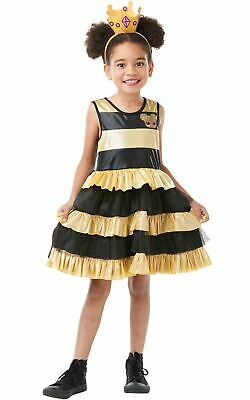 Official LOL Surprise Queen Bee Doll Girls L.O.L Fancy Dress Outfit • 16.98£