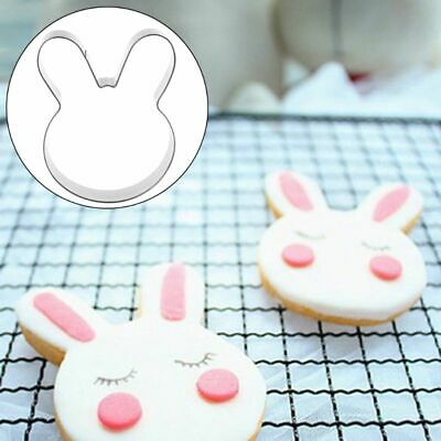 £2.02 • Buy Easter Rabbit Bunny Head Stainless Steel Cookie Cutter DIY Cake Chocolate Mold