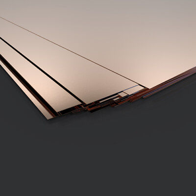 0.7mm Copper Sheet /plate - Guillotine Cut - Model Making Supply - Various Sizes • 119.59£