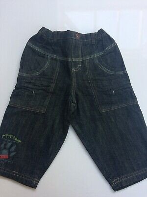 BNWT Marese Black Jeans Age 9-12 Months • 8.99£