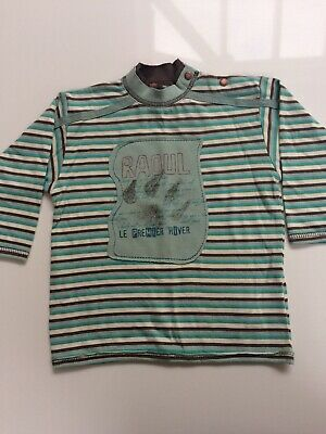 BNWT Marese Striped Top, Age 9-12 Months • 8.99£