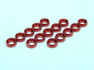 $3.59 • Buy Aluminum Frame Washer For M2.5 Screws - Red For T-Rex 450 500 Helicopter
