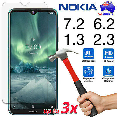AU7.99 • Buy 9H Tempered Glass | Film Screen Protector For Nokia 3.4 8.3 5G 5.3 2.3 1.3 7.2
