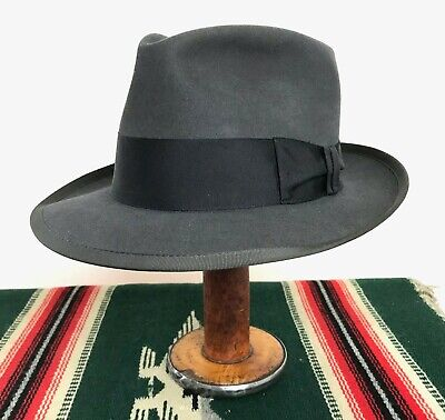 237a049efe923 Vtg 1950s Royal STETSON Fedora 7 To 7 1 8 ~ WHIPPET Clone Work Wear