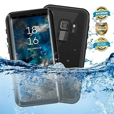 AU26.59 • Buy For Samsung Galaxy S8 S9 + Waterproof Case Cover With Built-in Screen Protector