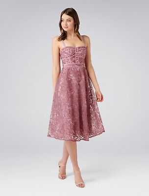 AU70 • Buy Rosewood Prom Dress Formal Bridesmaid Women's Pink Dress Size 10 12 Forever New