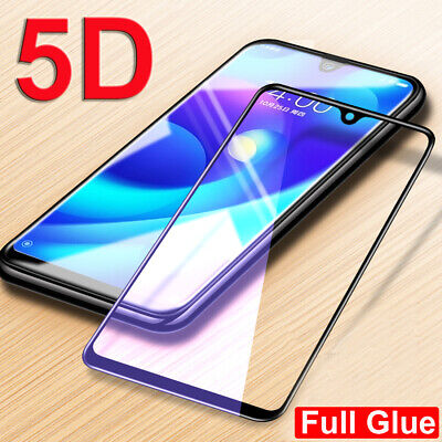 $1.80 • Buy For Xiaomi 9 Redmi Note 7 Film Protector 5D Tempered Glass Screen Protector Skin