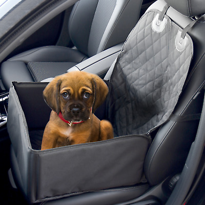 2 In 1 Dog Booster Car Seat Cover Waterproof Pet Carrier Protector Pukkr • 12.99£