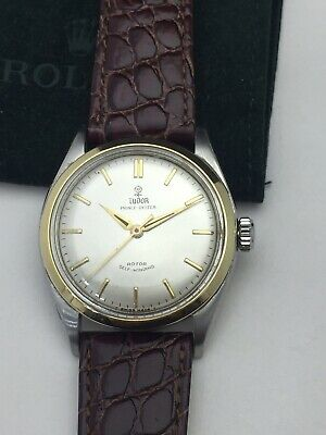 $ CDN1881.16 • Buy Vintage Rolex Tudor Oyster Prince Automatic Mens Watch From The 50's Ref# 7965