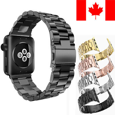 $ CDN16.99 • Buy Stainless Steel Metal Replacement Band For Apple Watch Series 1 / 2 / 3 / 4 / 5