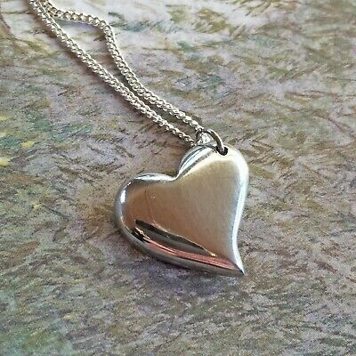 10th Anniversary Gift. Curved Tin Necklace In Commemorative 10th Anniversary Box • 25£