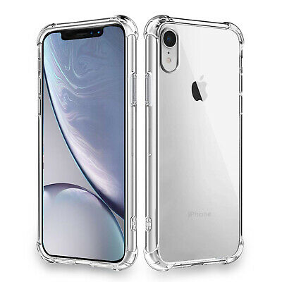 AU17.09 • Buy IPhone XR XS MAX XR 6 7 8 PLUS Clear Naked Soft Thin Wireless Charger Compatible