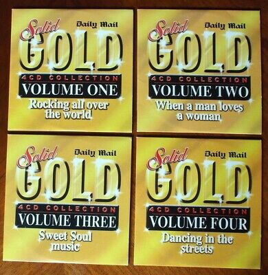 £2.15 • Buy Solid Gold 4 Cd Collection Volumes 1-4  Daily Mail Promo  Free Uk Post
